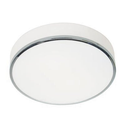 20671-CH/OPL Chrome Flush Mount with Opal Glass Aero Access Lighting 20671-CH/OPL