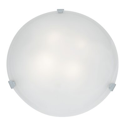 Mona 4-Light Flush Mount Finish: Chrome