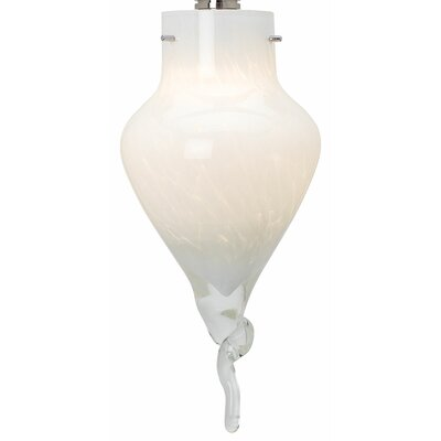 5 Glass Novelty Pendant Shade Color: White