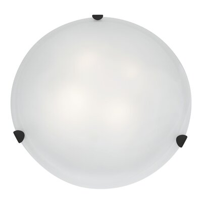 Mona 4-Light Flush Mount Finish: Rust
