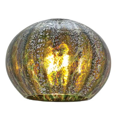 5 Glass Sphere Pendant Shade Color: Green Opaline