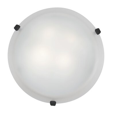 Mona 2-Light Flush Mount Finish: Rust