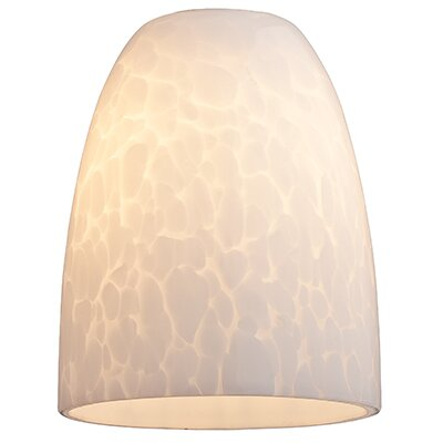 4 Glass Oval Pendant Shade