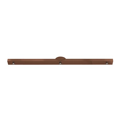 Unijack 3-Light Pool Table Light Finish: Bronze