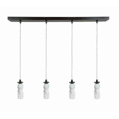 Patchway 4-Light Kitchen Island Pendant Finish: Oil Rubbed Bronze