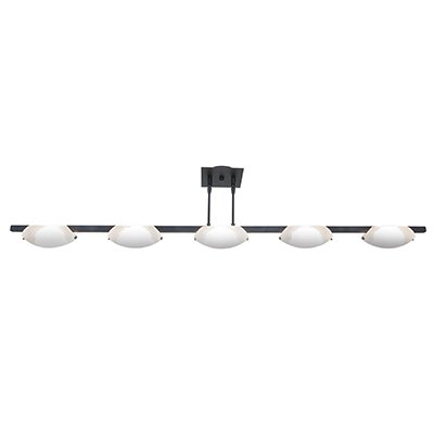 Sundorne 5-Light Convertible Pendant Finish: Oil Rubbed Bronze