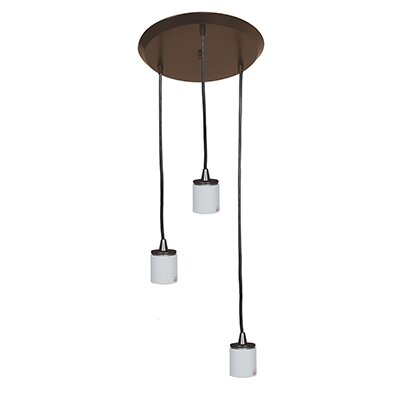 Circ 3-Light Pendant Finish: Oil Rubbed Bronze