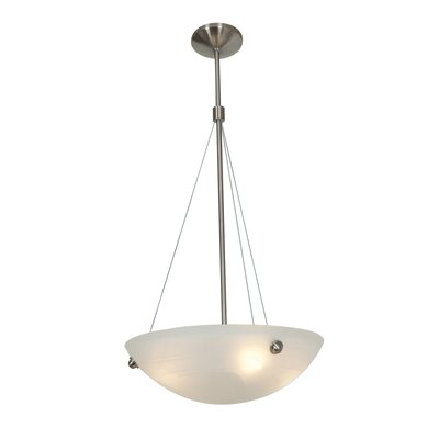 Noya Cable Inverted Pendant Size: 35 H x 18 W