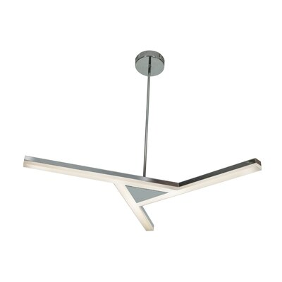 Aviator 3-Light Geometric Pendant