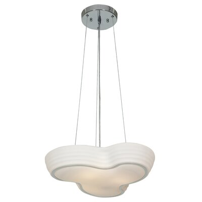 Swiss 3-Light Geometric Pendant