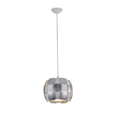 Layers 1-Light Mini Pendant Shade Color: Chrome