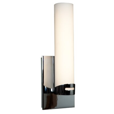 Access Lighting Chic 1-Light Round Candle Sconce 70037LED-CH/OPL