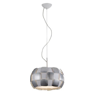 Chadstone 1-Light Drum Pendant Shade Color: Chrome