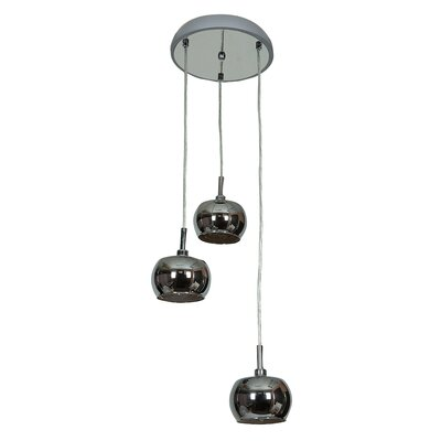 Rotherhithe 3-Light Pendant