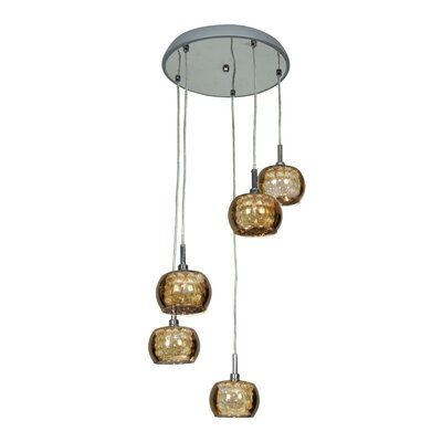 Glam 5-Light Pendant