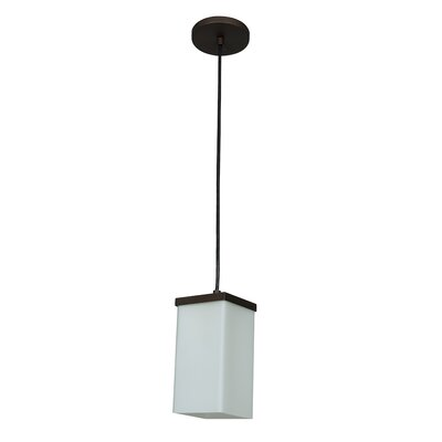 Basik 1-Light Mini Pendant Finish: Oil Rubbed Bronze