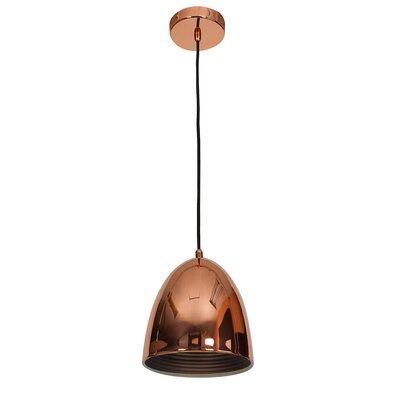 Essence 1-Light Mini Pendant Size: 10 H x 8 W x 8 D