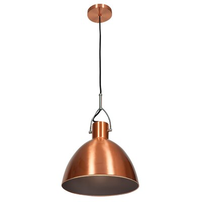 Damion Industrial 1-Light Mini Pendant