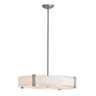 Pastrana 1-Light Drum Pendant Size: 4.75 H x 24 W x 24 D