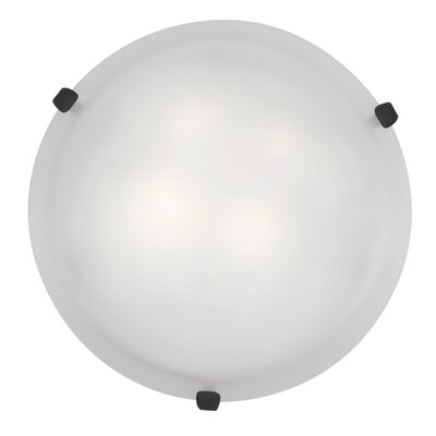 Caves 3-Light Flush Mount Finish: Rust