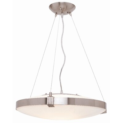Roseboro 1-Light Drum Pendant