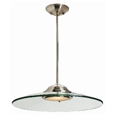 Phoebe 1-Light Mini Pendant Size: 19 D