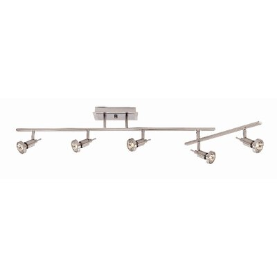 Philpott 5-Light Semi-Flush Mount