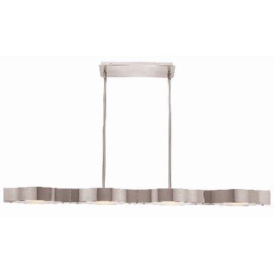 Titanium 4-Light Convertible Pendant