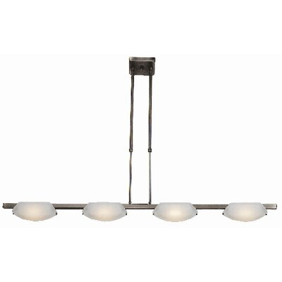 Nido 4-Light Convertible Pendant Finish: Oil Rubbed Bronze