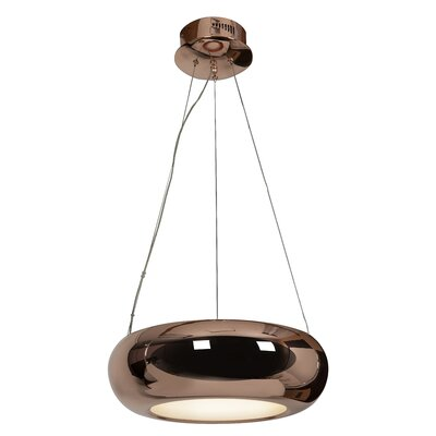 Essence 1-Light Mini Pendant Finish: Rose Gold