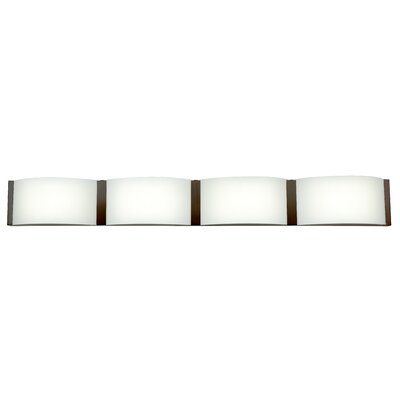 Access Lighting Wave 4-Light Bath Bar 62298LEDD-BS/OPL