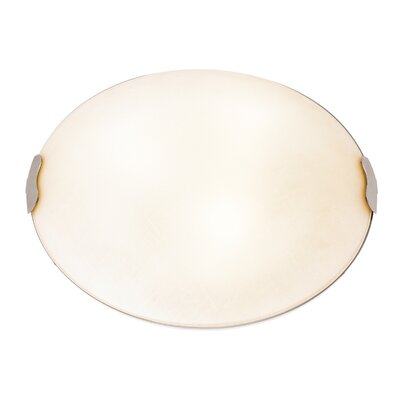 Roundhay 1-Light Metal Flush Mount