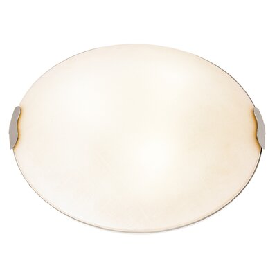 Roundhay 1-Light Flush Mount Size: 4.75 H x 15.5 W x 15.5 D