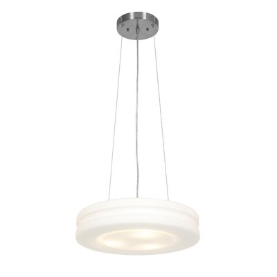 Altum 1-Light Drum Pendant