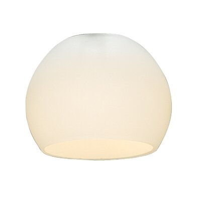 Globetrotter 3.2 Glass Sphere Pendant Shade Color: Frosted