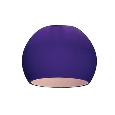 3.2 Glass Sphere Pendant Shade Color: Cobalt
