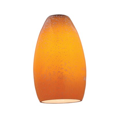 5.5 Solid Glass Oval Pendant Shade