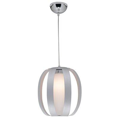 Rosewood 1-Light Drum Pendant Size: 18 - 128 H x 10.75 Diameter