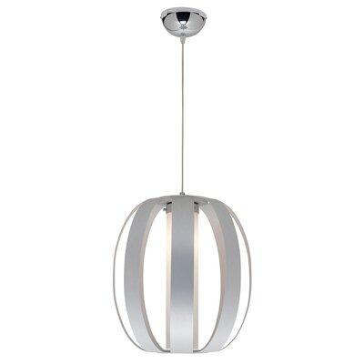 1-Light Drum Pendant Size: 21 - 131 H x 15 Diameter