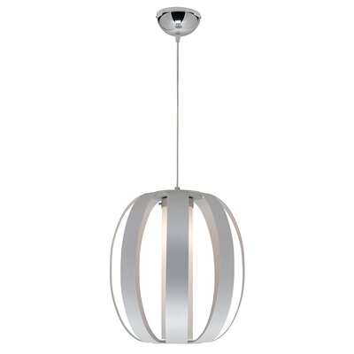 Rosewood 1-Light Pendant Size: 128 H x 10.75 W x 10.75 D