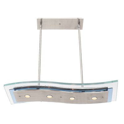 Miramare Modern 4-Light Kitchen Island Pendant
