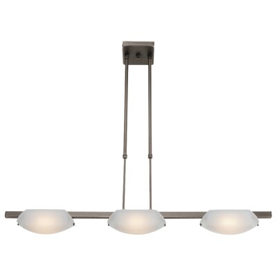 Nido 3-Light Kitchen Island Pendant Finish: Oil Rubbed Bronze