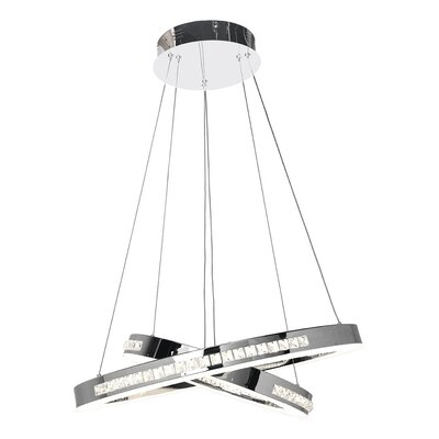 Affluence Geometric Pendant