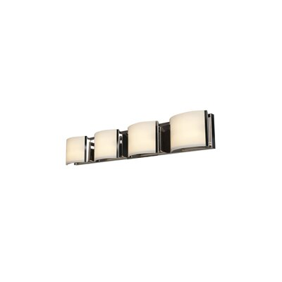 Access Lighting Nitro 4-Light Bath Bar 62294LEDD-BS/OPL