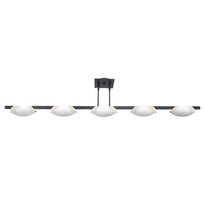 Sundorne 5-Light Kitchen Island Pendant Finish: Oil Rubbed Bronze