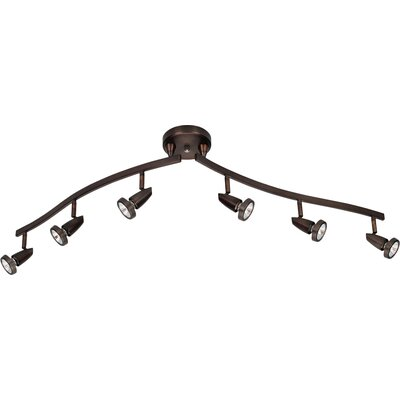 Rocheleau 6-Light Spot Light Finish: Bronze