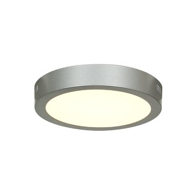 Josephs 1-Light Flush Mount Finish: Silver