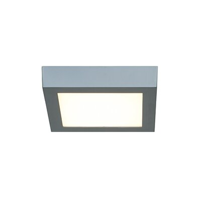 Strike 2.0 1-Light Flush Mount Finish: Silver