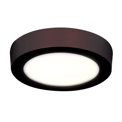 Josephs 1-Light Flush Mount Finish: Bronze