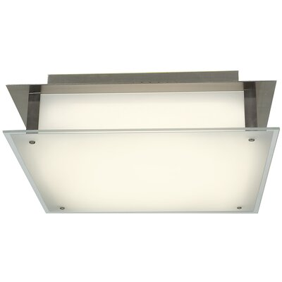 Vision 2-Light Semi Flush Mount